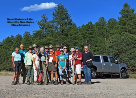 Silver City NM hikers